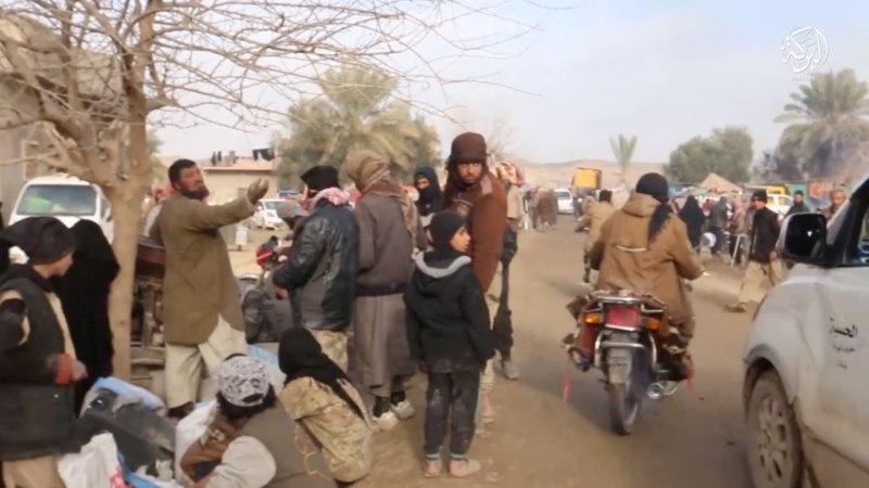 Раскрыт быт боевиков в последнем оплоте ИГ (ФОТО)