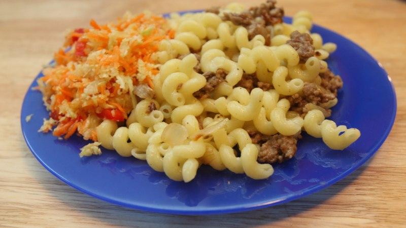 KOOLITOIDU LEMMIKUD: makaroni-, kartuli- ja kanaroad