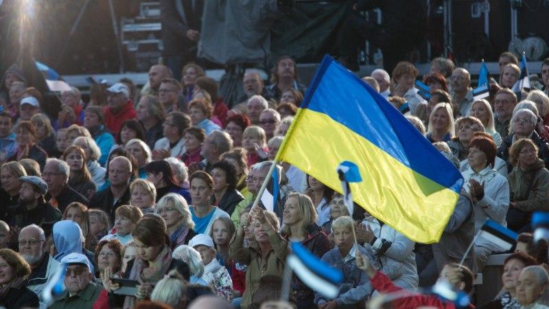 Украинский вошел в тройку самых распространенных в Эстонии родных языков