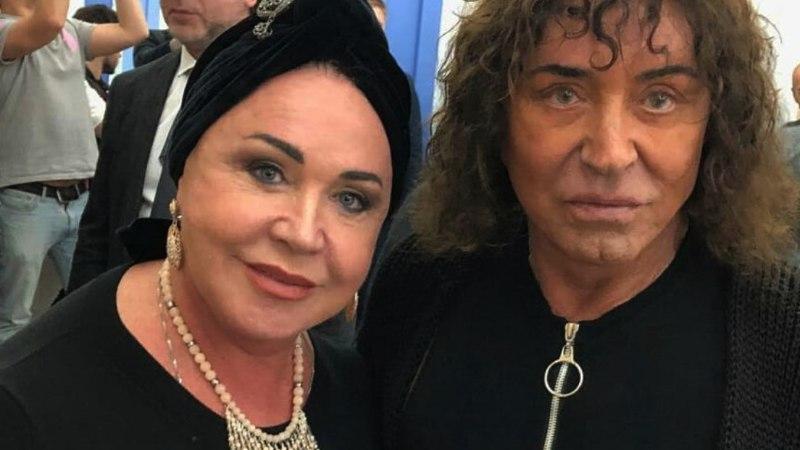68-летняя Бабкина стала копией Леонтьева из-за пластики