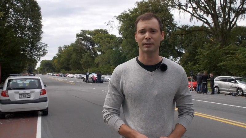 VIDEO | Uus-Meremaa massimõrva läheduses olnud ETV endine ilmateadustaja Henri Laumets: linn on nagu sõjakolle