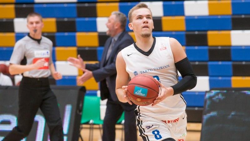 Valga-Valka šokeeris Tartu Ülikooli, Rapla lootused said taas väikese löögi