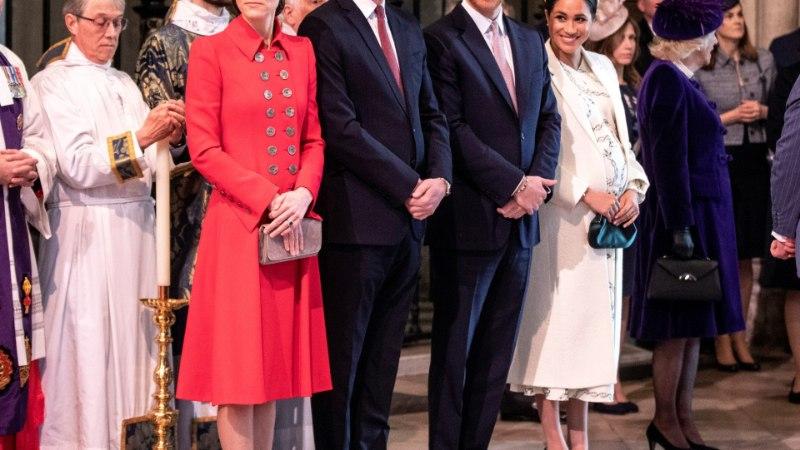 Miks nii? Kuid kestnud kuningliku peretüli keskmes on hoopis vennad William ja Harry
