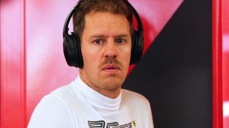 Ferrari vaevleb kriisis, Vettel nõuab tiimilt ületunde