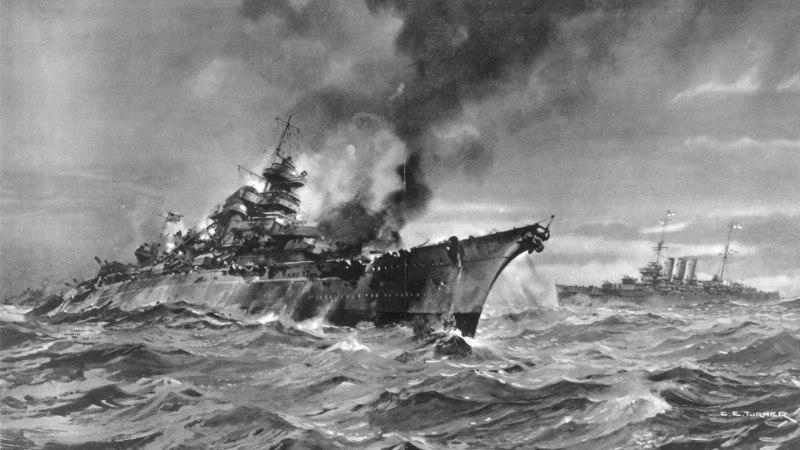VIDEO   Kuidas uppumatu saksa lahingulaev Bismarck põhja läks?