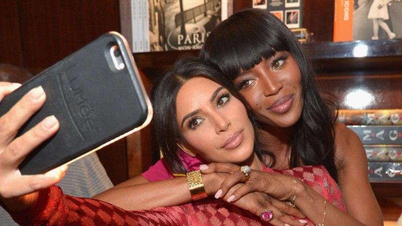 Kes kandis paremini? Kim Kardashian Westi süüdistatakse Naomi Campbelli kopeerimises