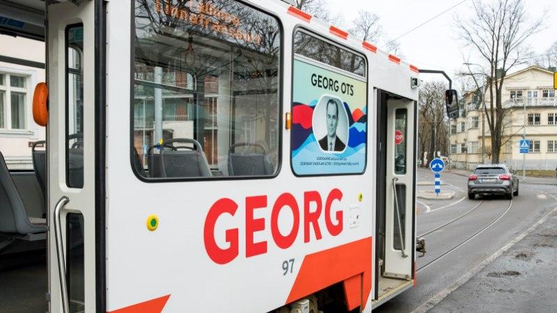Georg Ots sai trammi ning saab monumendi ja lavastuse