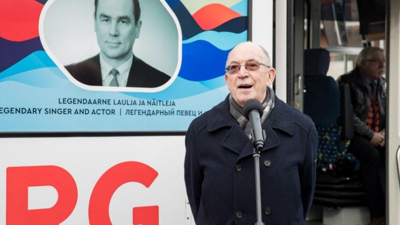 ÕL VIDEO JA FOTOD | Kadriorust saadeti teele Georg Otsale pühendatud tramm