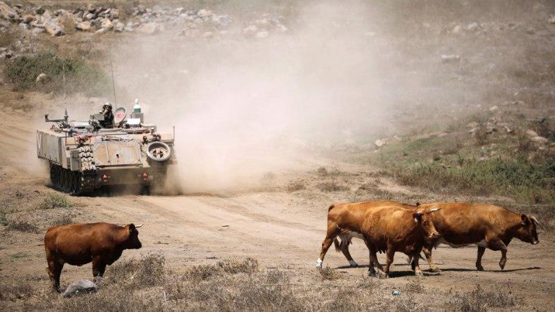 Trump teatas, et Golani kõrgendikud peavad kuuluma nüüd Iisraelile