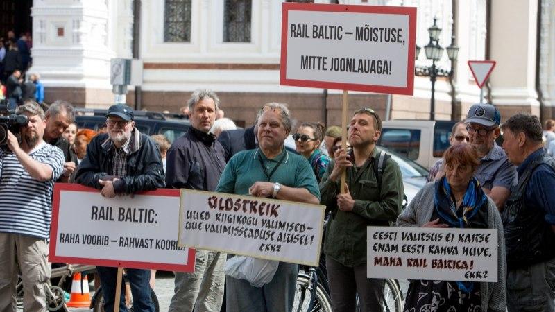 Juhan Telgmaa | Võimuliit tõmbab Rail Balticule pidurit?