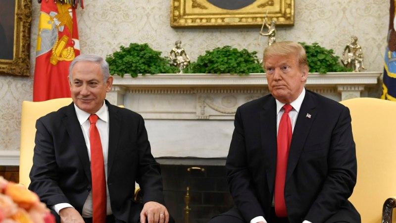 """Netanyahu Trumpile: """"Iisraelil pole kunagi olnud paremat sõpra kui teie!"""""""