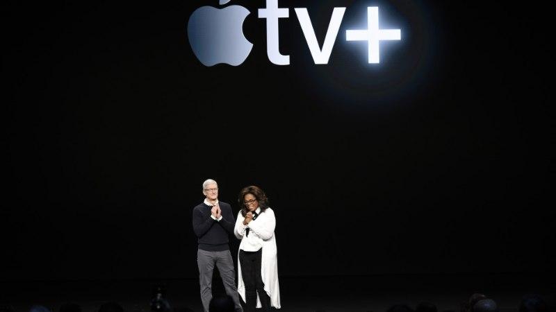 KANNAPÖÖRE: Apple avalikustas voogedastusplatvormi