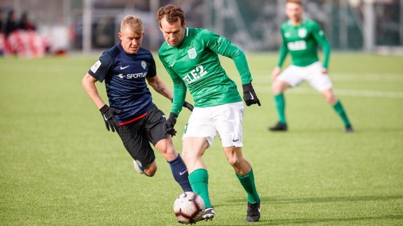FOTOD | Esimest korda Flora eest mänginud Konstantin Vassiljev lõi kohe kaks väravat