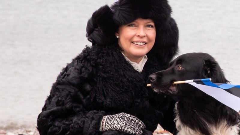 EVELIN ILVESE KOKAKOOL: Ukraina vanaema kasukas