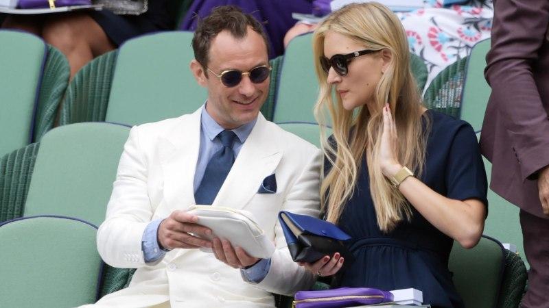 Jude Law' sõbratari sõrmes särab hiiglaslik kihlasõrmus