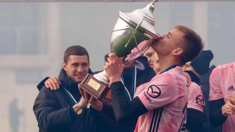 GALERII | Valitsev meister Nõmme Kalju napsas hooaja esimese trofee endale