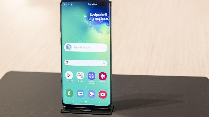 Samsung Galaxy S10 eelmüük on kaks korda edukam kui eelmisel tippmudelil