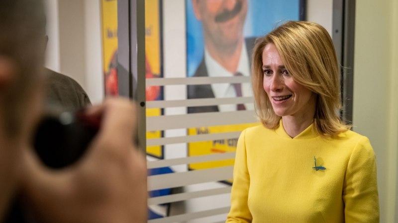ÕL VIDEO | Kaja Kallas potentsiaalsest koalitsioonist Keskerakonnaga: esindame kõige suuremat valijaskonda ja täiendame teineteist