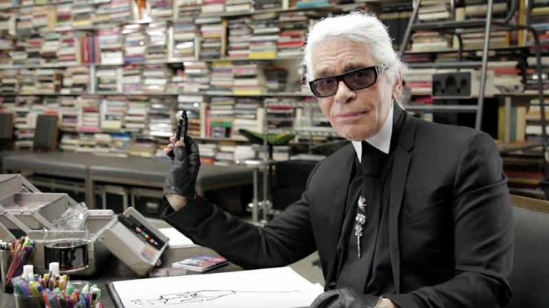 MoeKunstiKino teeb eriseansiga kummarduse Karl Lagerfeldile