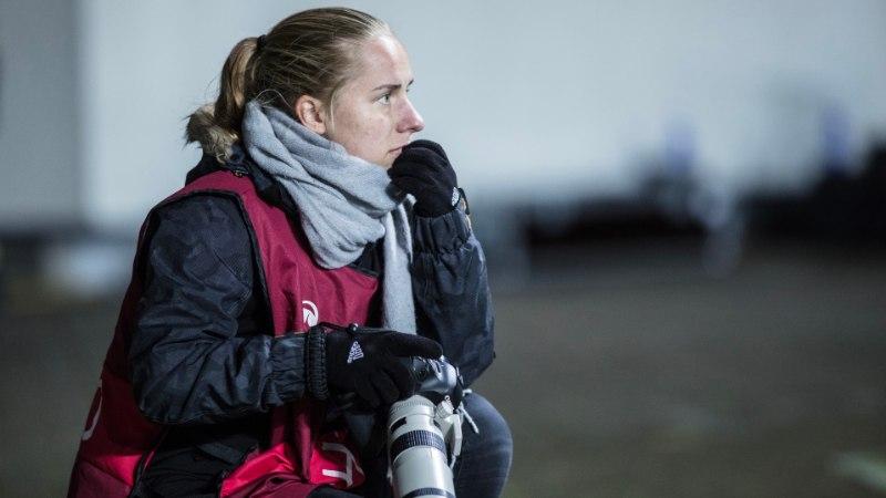 Eesti jalgpalli liidu ametlik fotograaf Jana Pipar: minu töös on õnn hästi oluline!