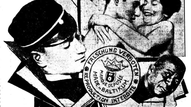 Eesti pornograafia isa Ned de Baggo varustas riivatute piltidega poolt maailma