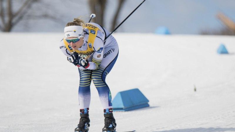 TOHOH! Rootslanna teeb 100 meetri suusadistantsil peaaegu silmad ette ka meie jooksusprinteritele