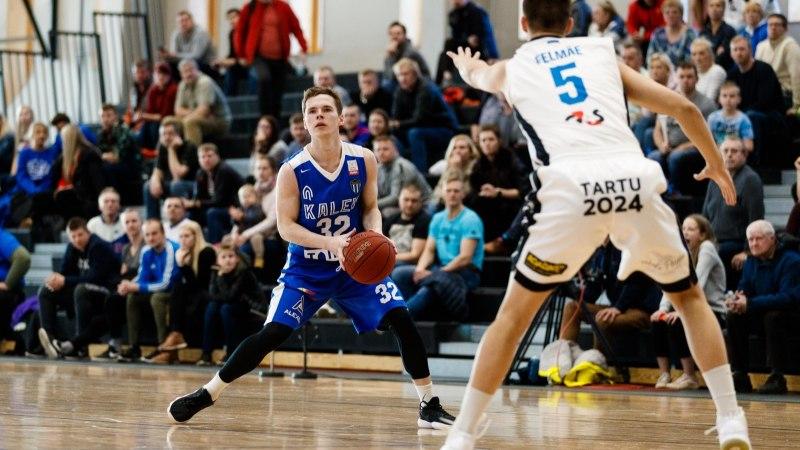 FOTOD | Jõuline Kalev/TLÜ surus Tartu Ülikooli ära ja viigistas seeria