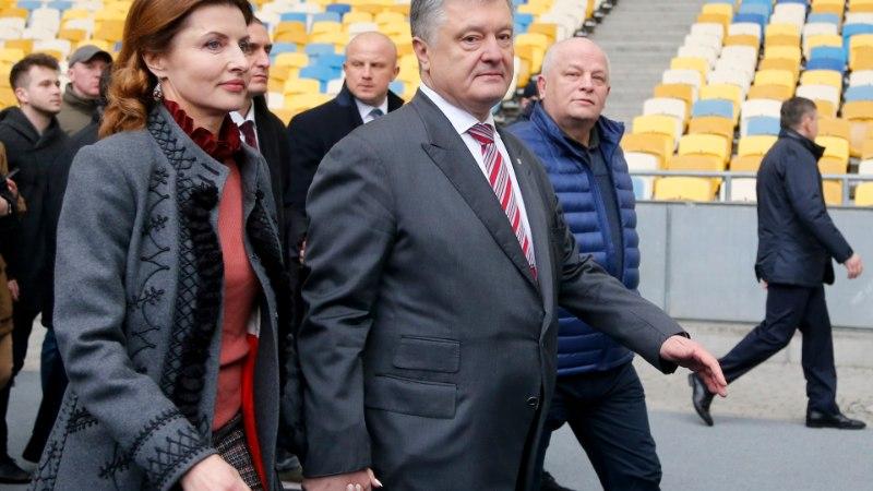 Suur presidendidebatt: Porošenko tuli, nägi ja lahkus pettunult