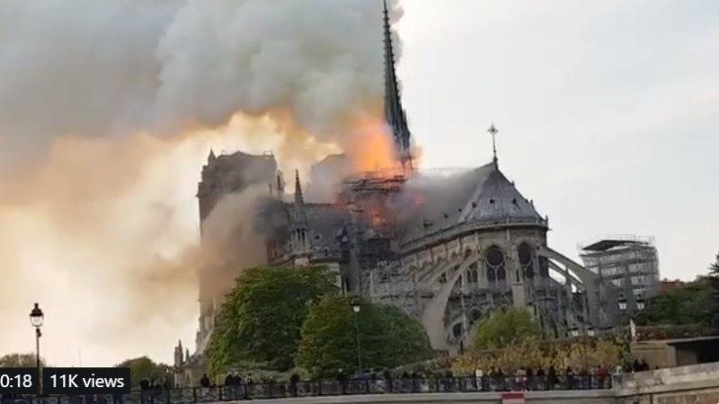 BLOGI, FOTOD JA VIDEOD   Pariisi Jumalaema kiriku põleng: mida me seni teame ja mille kohta puudub info?