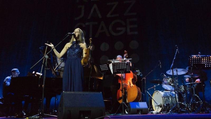 Эстонка выиграла международный конкурс джазовых исполнителей