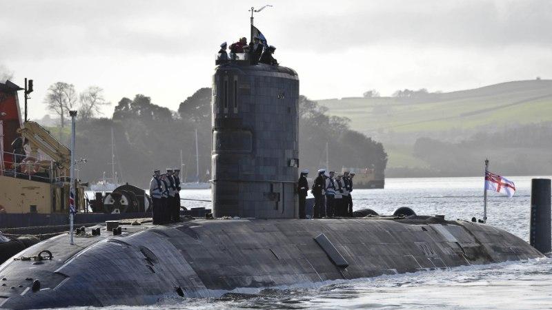 Моряков британской атомной подлодки поймали с кокаином
