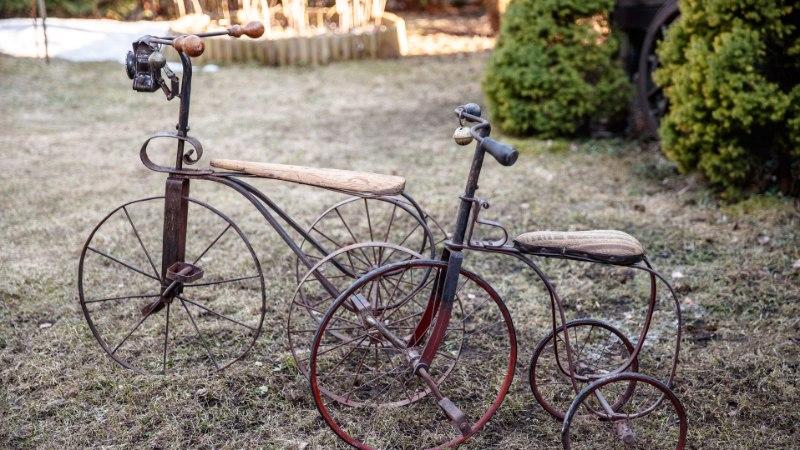 LAHE HOBI! Toomas Pihti kogus on poolsada haruldast jalgratast