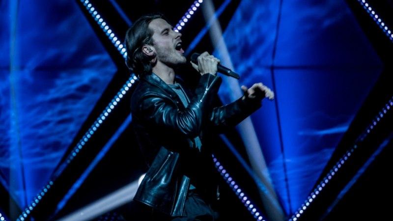 VIDEO | Vaata, milline melu saatis Victor Cronet legendaarsel Londoni Eurovisioni eelpeol