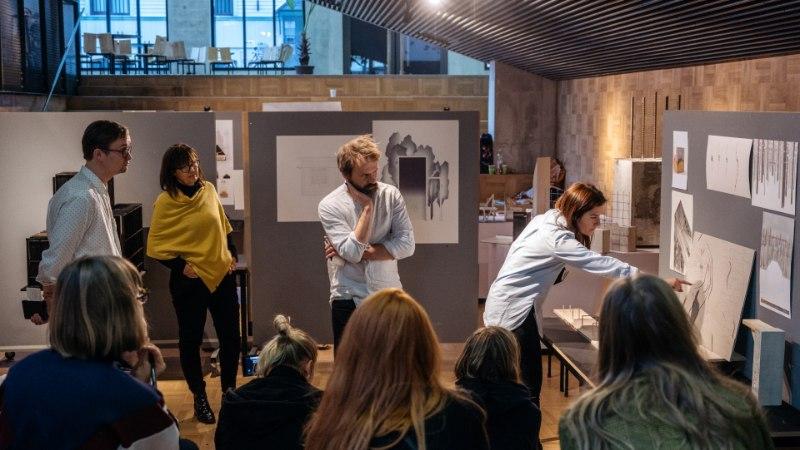 Viljandimaal Heimtalis kavandatakse kahe materjali kokkupuutest inspireeritud mõttekoda