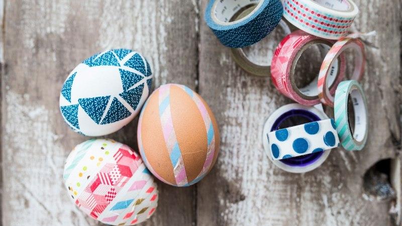 Ei taha värvidega jännata? 5 lihtsat muna kaunistusnippi