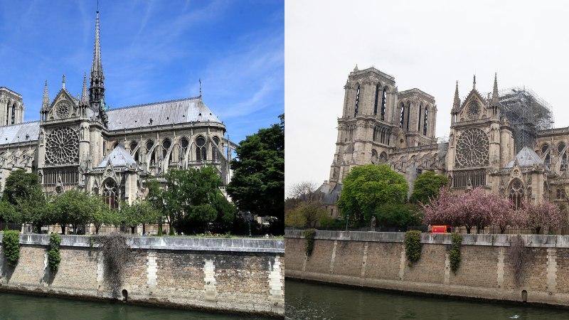 Põrgutuli laastas Pariisi Jumalaema kiriku. President Macron lubas, et pühakoda taastatakse