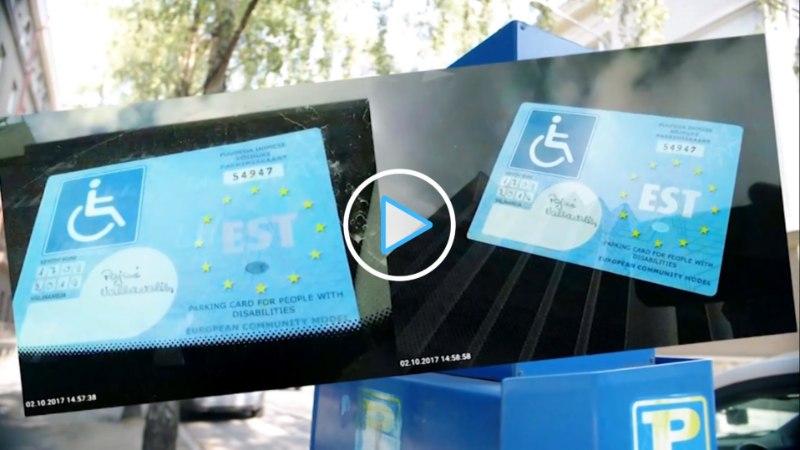 VIDEO | Numbrimärgita autod, inimvalve ja kõik teised viisid, kuidas petturid üritavad parkimistasu maksmisest mööda hiilida