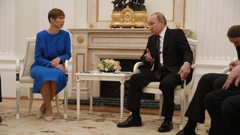 VIDEO   Politoloog ei usu Kaljulaidi ja Putini kohtumisest pööret Eesti-Vene suhetes