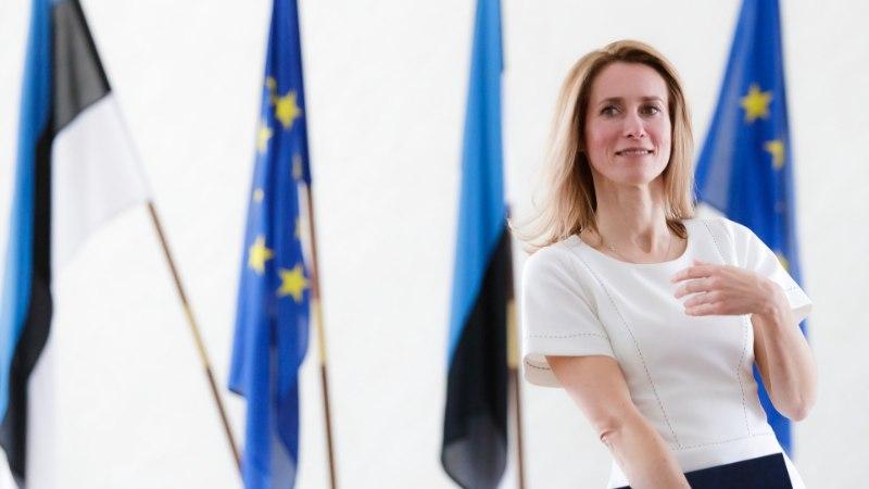 Kaja Kallase toetus valitsusjuhina tegi suure hüppe, edestades Jüri Ratast