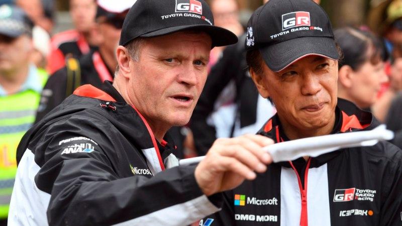 Toyota rallimeeskond kavatseb MM-teedele tuua uue masina