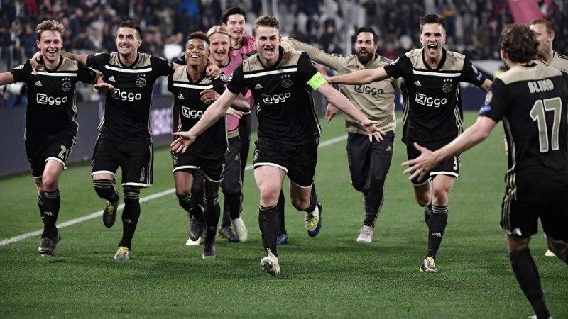 Hollandi jalgpalliliit tõttas vutifännide südamed võitnud Amsterdami Ajaxile appi