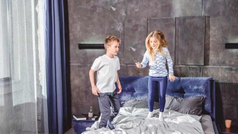 Viis lõbusat asja, mis utsitavad lapsi rohkem liikuma