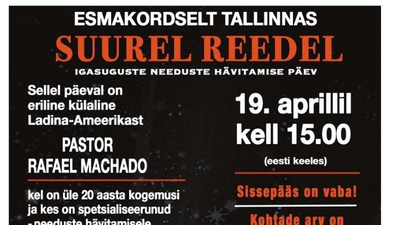 """""""Ma põletan, ma põletan, ma põletan!"""" ehk Kuidas Tallinna kesklinnas inimesi haigustest ja unetusest vabastatakse"""
