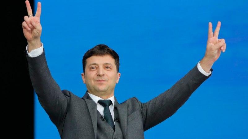 Ukraina presidendiks kipub tõusma populaarne sõumees
