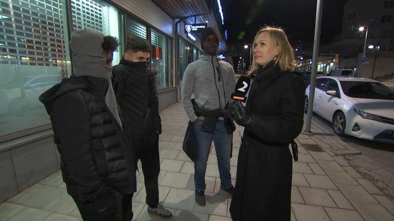 Elo Mõttus-Leppik üritas Rootsi getos loata filmida: viis tegelast tõmbasid rätiku näo ette ja käskisid uttu tõmmata