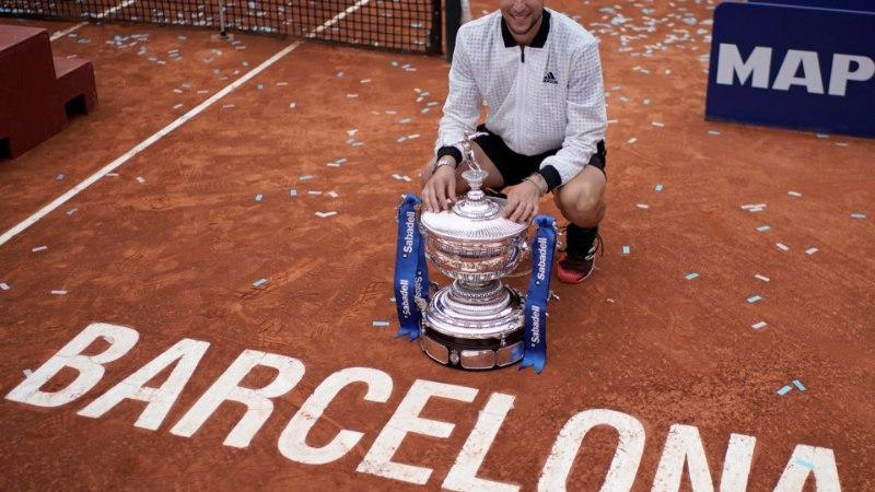 Poolfinaalis Nadali šokeerinud austerlane tuli Barcelona lahtiste võitjaks