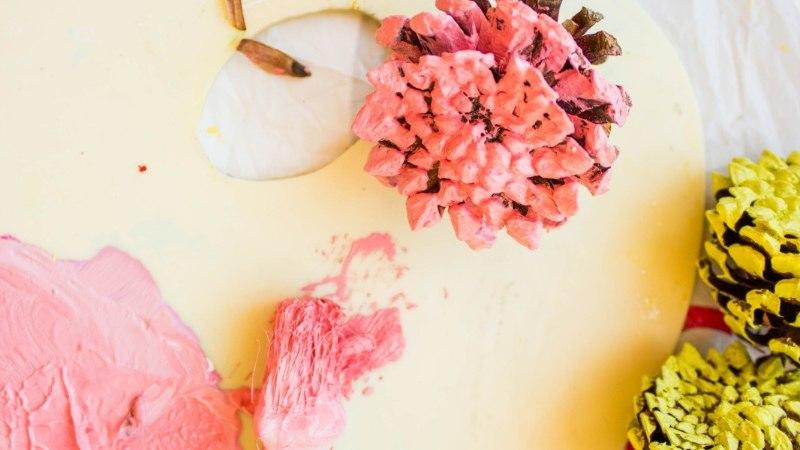 KAUNISTA KODU | Käbililledest kevadpärg