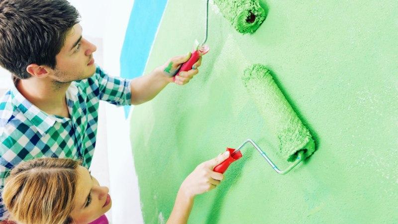 Värvi nagu asjatundja – seinad ja laed värskeks!