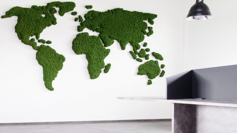 ROHELINE REVOLUTSIOON INTERJÖÖRIS: kaunista seinad samblaga!