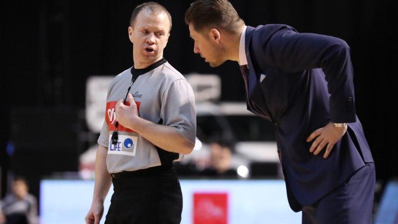 FOTOD | Pronksimatšist sai ikkagi asja: Kalev/Cramo peatreener saadeti riietusruumi, Kitsing tabas võidukolmese!